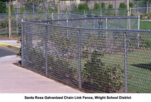 Chain Link Fences Sonoma And Marin County Ca The Fence