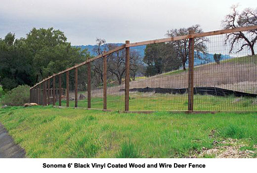 Deer Fence and Agricultural Fences, Sonoma and Marin County | The
