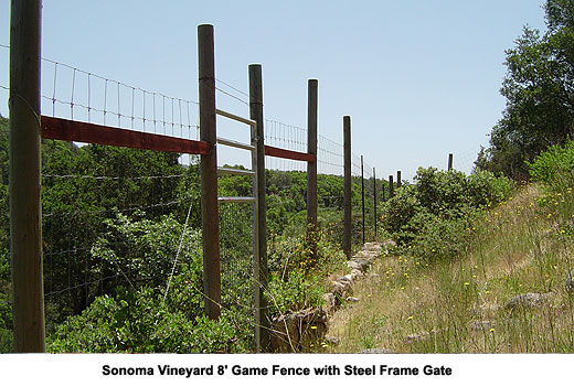 Deer Fence and Agricultural Fences, Sonoma and Marin County | The ...