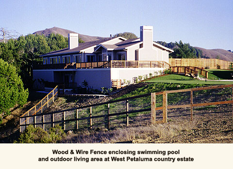 Residential and Commercial Fencing, Petaluma, CA